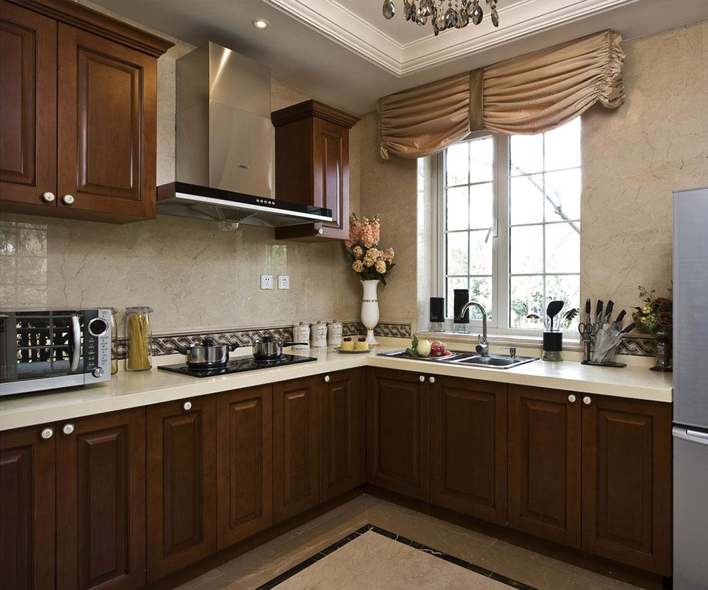 玉泉新城-二居室-77.95平米-厨房装修效果图-70 90平流行小户型装修案高清图片