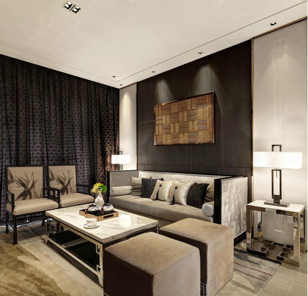 140平米四居室热门案例 中式全包18万!-星河国际装修