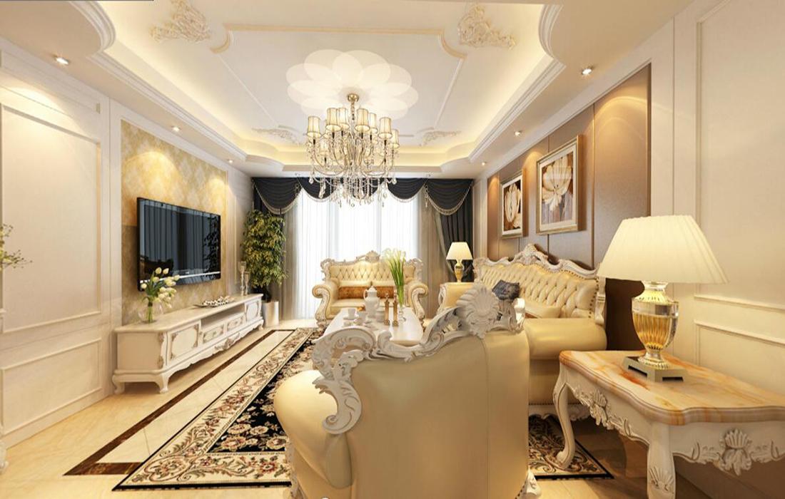 青岛万科紫台-简欧风格-三居室-装修案例设计说明