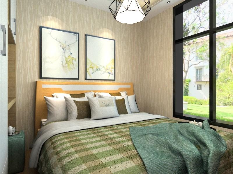 5套三居室装修效果图 不足7万装修130平米美家高清图片