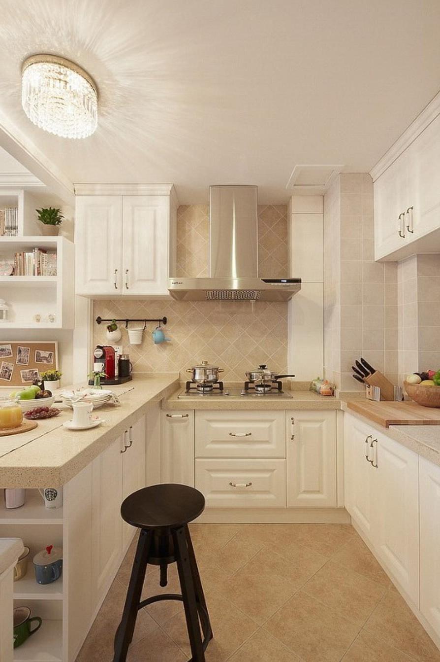 二居室-87.00平米-厨房装修效果图