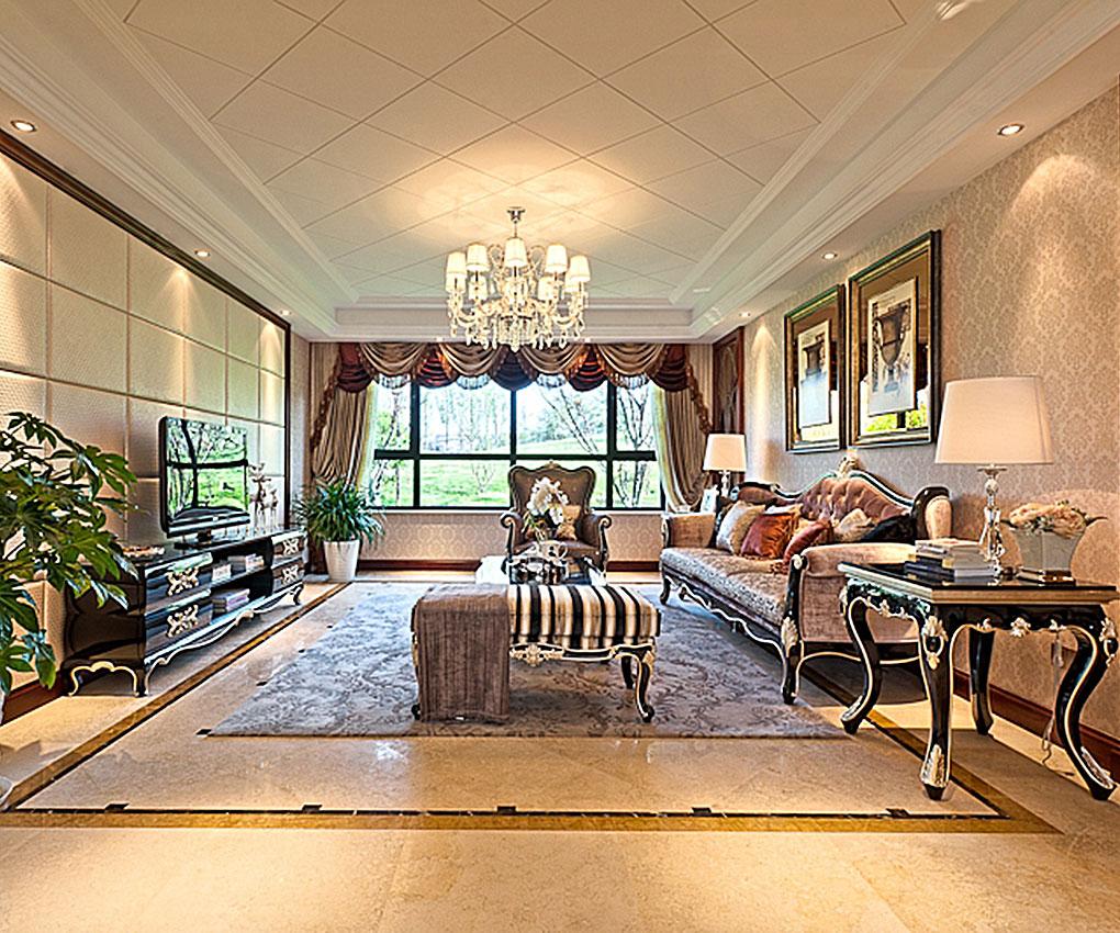 欧式风格的家居选用现代感强烈的家具组合,特点是简单、抽象、明快,现代感强,组合家具的颜色选用白色和流行色,配上合适的灯光及现代化的电器,比如音响器材,仿佛为主人编织了一个明快美丽的梦想。
