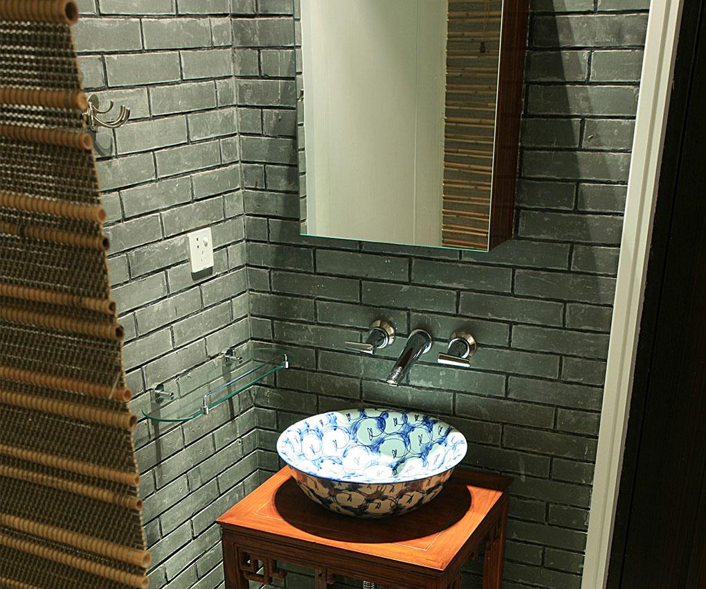 玉泉新城-二居室-77.95平米-卫生间装修效果图-70 90平流行小户型装修高清图片