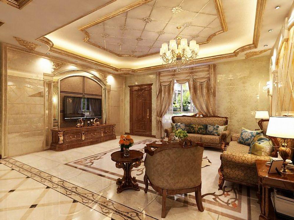 167.38平米四居室如何装修 欧式半包8万!-恒大绿洲装修