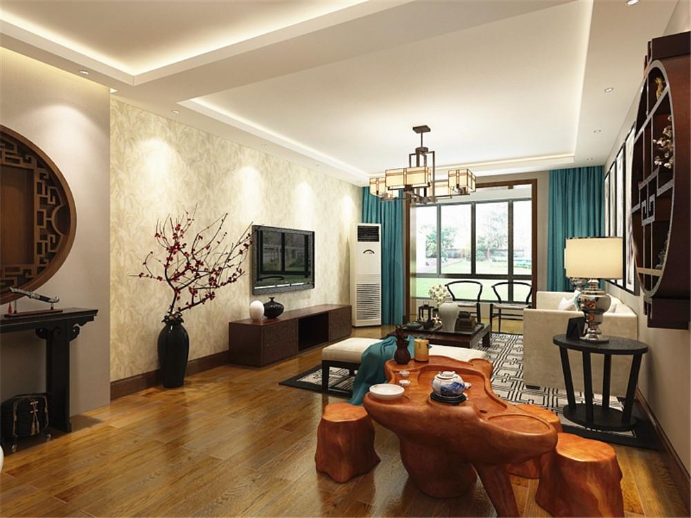 90后小夫妻花5万元装修的中式风格,134平米三居室太赞了!-桂荷园装修