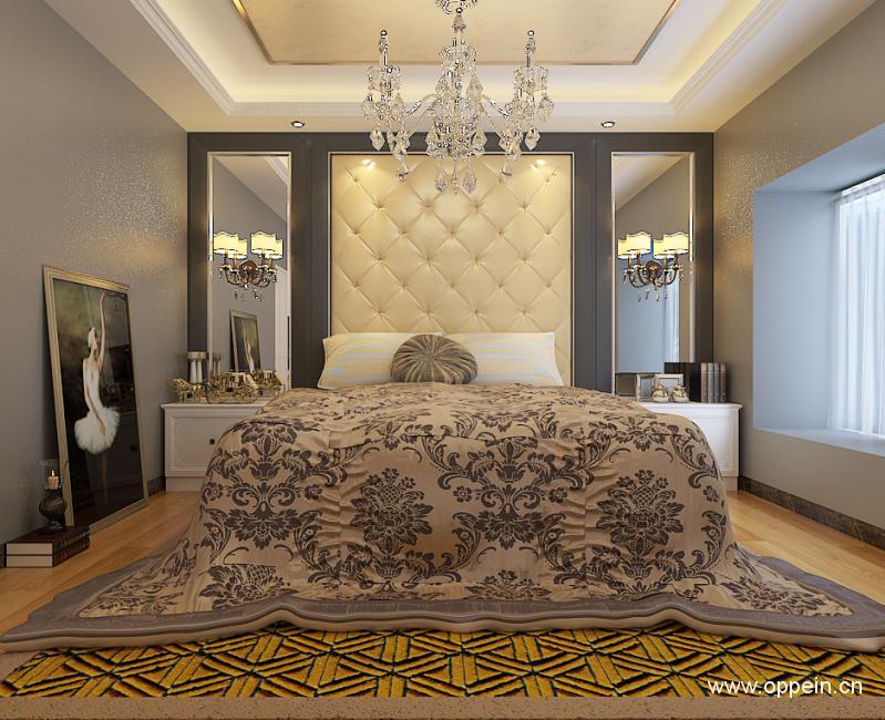 欧派五星级装修-北京搜房网享受家居网客厅背景墙装饰品图片