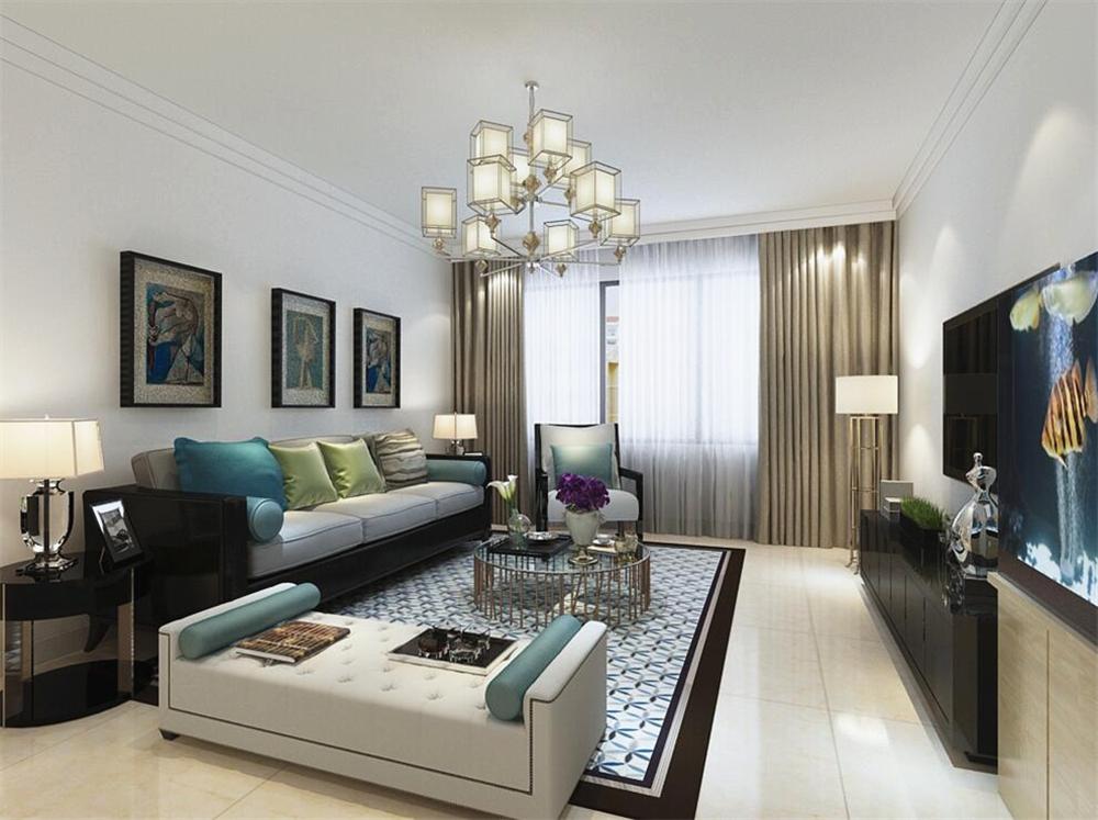 135平米的房这样装修好看100倍,现代简约风格惊艳众人!-融创洞庭路壹号装修