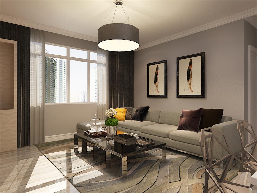 97平米的房子这样装修面积大了1倍,装修只花4万元!-仁恒滨河湾装修