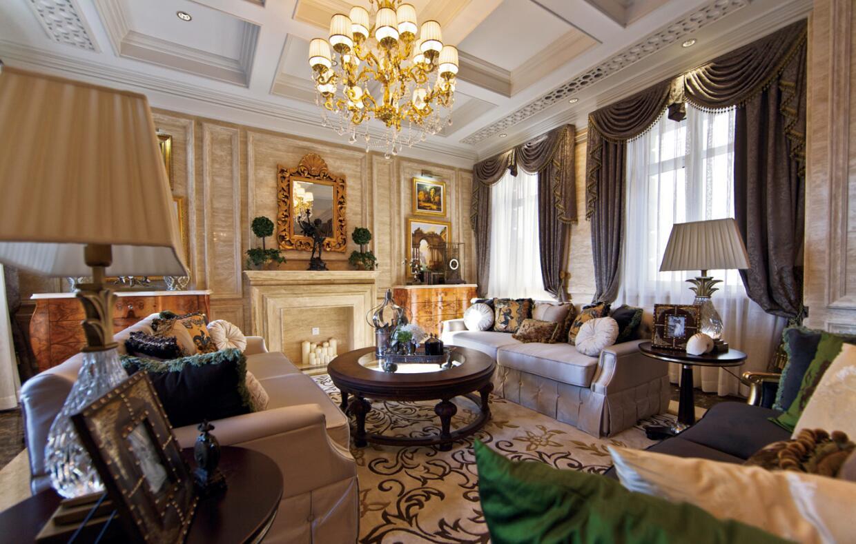 融科·千章墅八居室445平米欧式风格案例