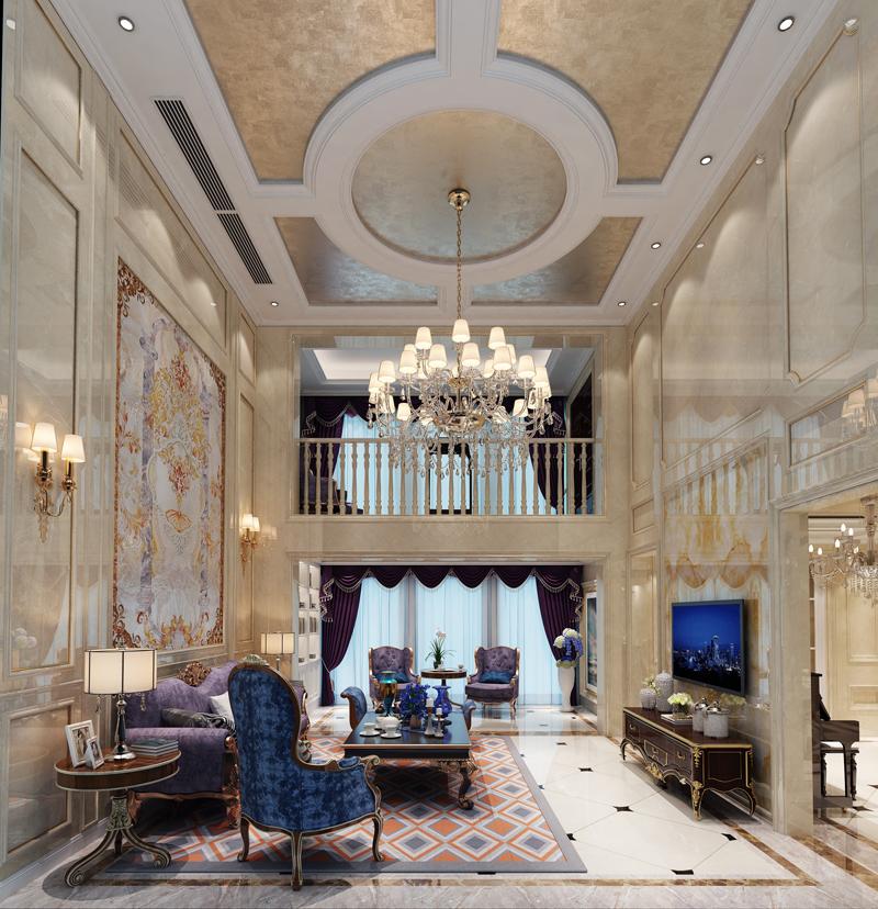 太湖国际社区-简欧风格-二居室-装修案例设计说明