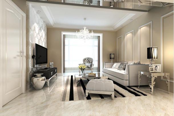 从客厅的侧面来看,可以说是别有一番风味,另一种视角享受,让每个人都想拥有这样的客厅。