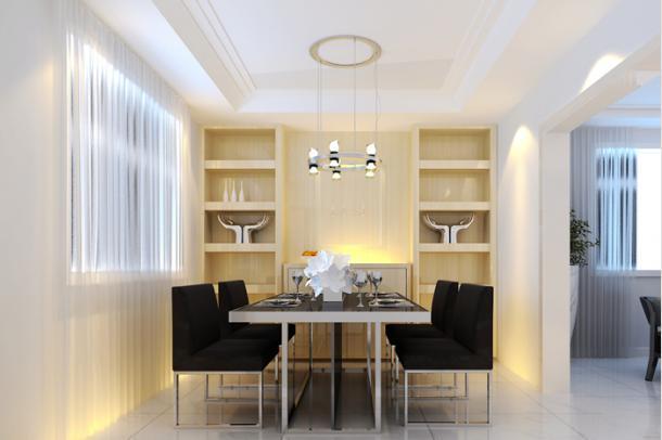 这个餐厅设计的非常漂亮,在灯光的衬托下特别耀眼,让人吃饭的时候可以食欲倍增,心情舒畅。