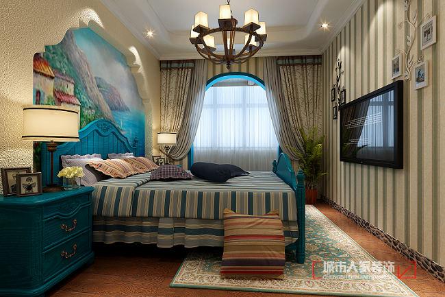 地中海风格的家居生活,用清爽的白色,唯美的蓝色交接而成的浪漫风情,营造自然而清新的异域情调,流线的拱形门,刻画出优美的弧度,彰显出自然地美感,舒适的格局,让生活更加方便而舒适。