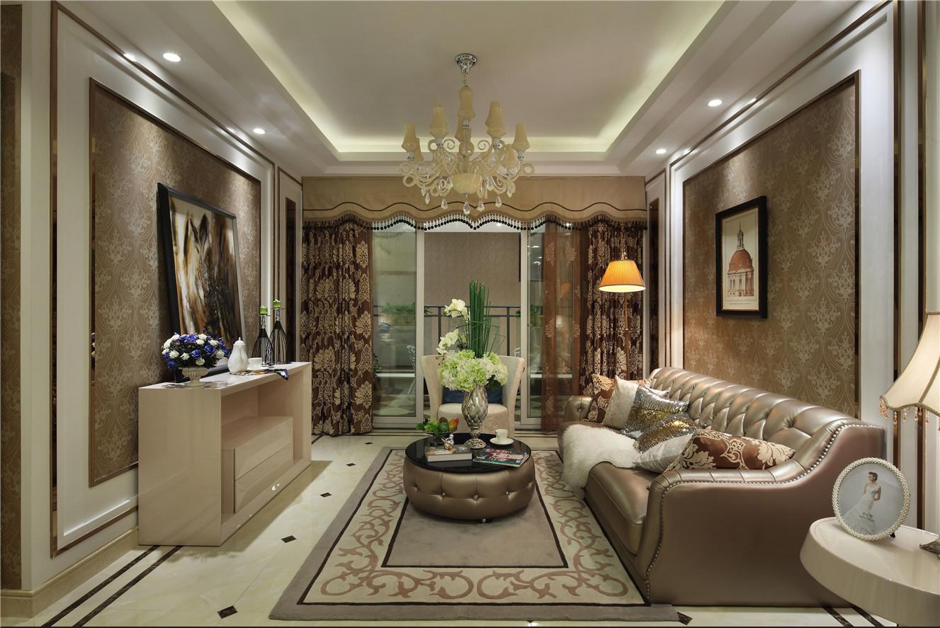 上海保利茉莉公馆三期法式风格三居室装修效果图_180图片