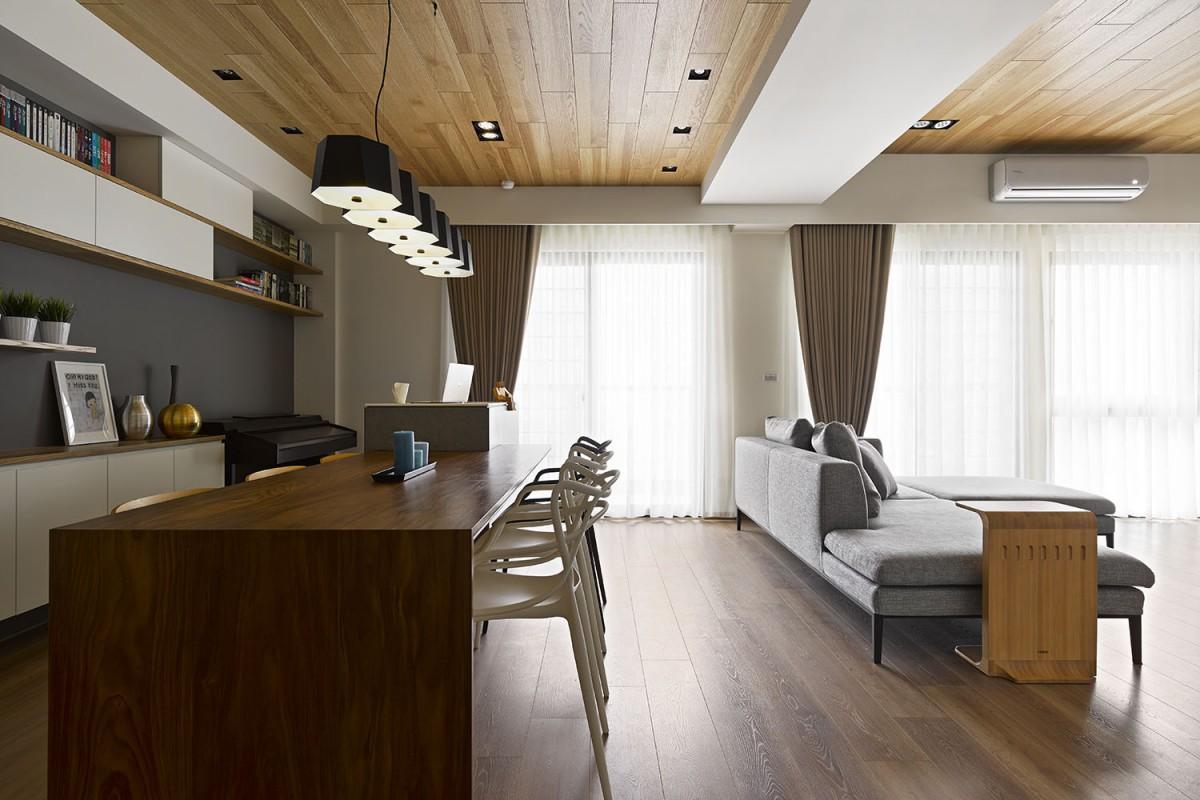 干净明亮舒适生活 125平现代三居暖宅