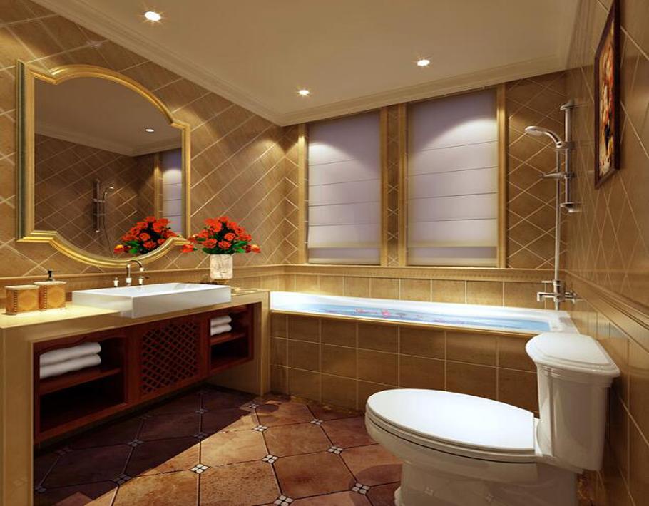 宽敞的卫生间设计