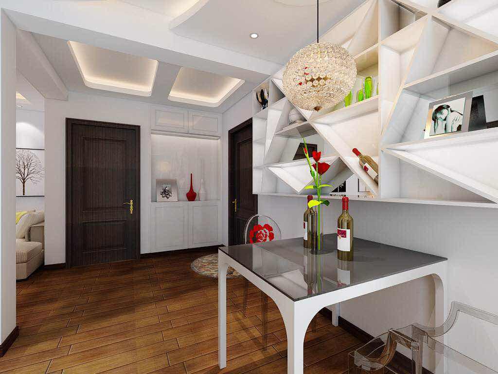 简约风格不仅注重居室的实用性,而且还体现出了现代社会生活的精致与个性,符合现代人的生活品位。 ?