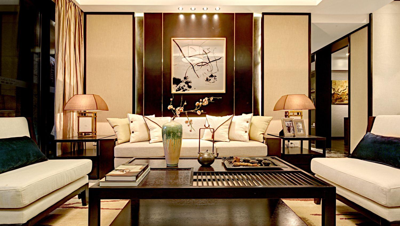 140平米四居室如何装修 中式全包18万!-星河国际装修
