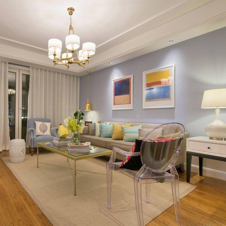 89平米二居室如何装修 混搭半包3万!-绿地世纪城装修
