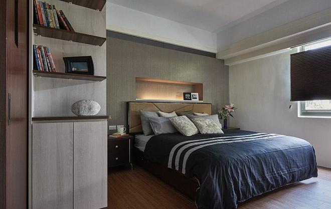 正商林语溪岸-三居室-87.00平米-卧室装修效果图-3套100平米左右小户