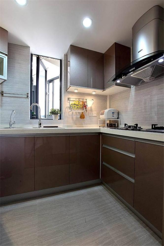 88㎡两居室装修设计实例 简约欧美风情超省钱高清图片