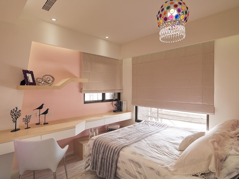 134平米三居室装修案例 港式半包5万!-绿都万和城装修