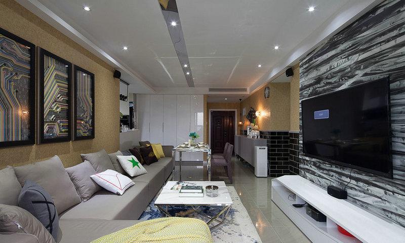 现代风格外形简洁、功能强,强调室内空间形态和物件的单一性、抽象性,让所有的细节看上去都是非常简洁的。装修中极简便是让空间看上去非常简洁,大气。 ?