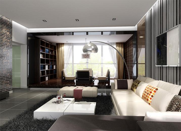 108平米中式风格三居室,预算10万,点击看效果图!-华润中央公园装修