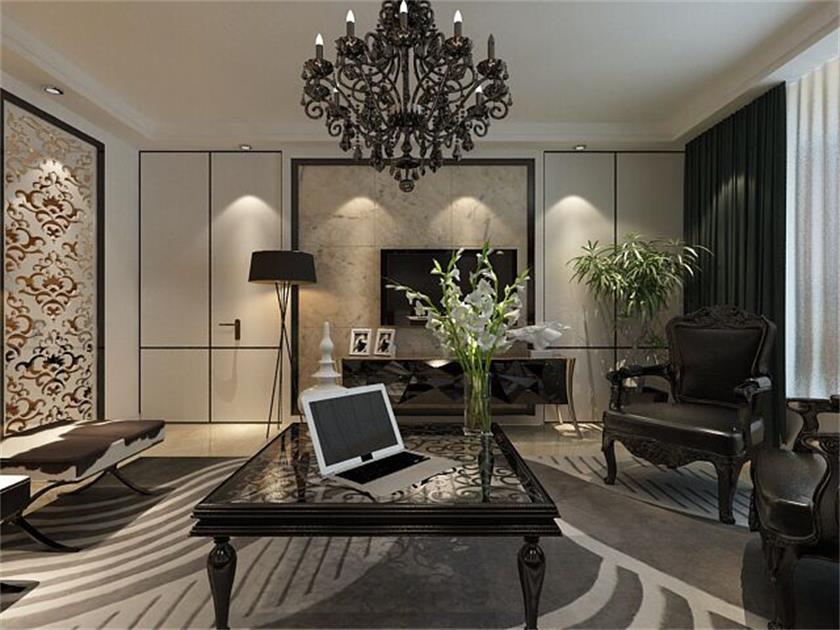 现代简约风格三居室如何装修,155平米的房子这样装才阔气!-西部枫景装修
