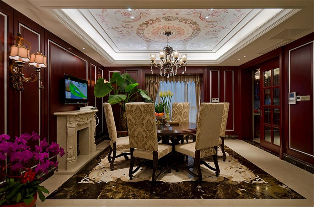 93平米三居室热门案例 新古典半包35万!-恒大照母山装修