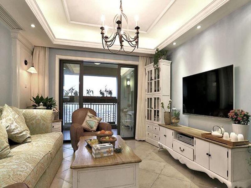 113平米三居室装修案例 简欧全包16万!-恒大天府半岛装修