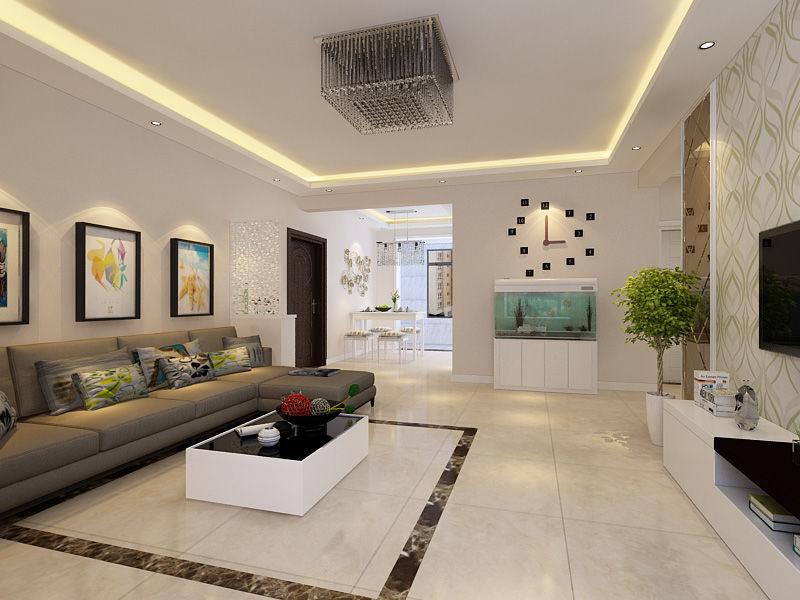 3万装修出118平米三居室现代简约风格,看过的人都点赞!-龙溪城装修