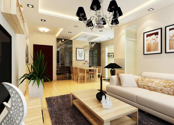 唯美的现代设计风格,让整体房间展现出温馨的生活气息!