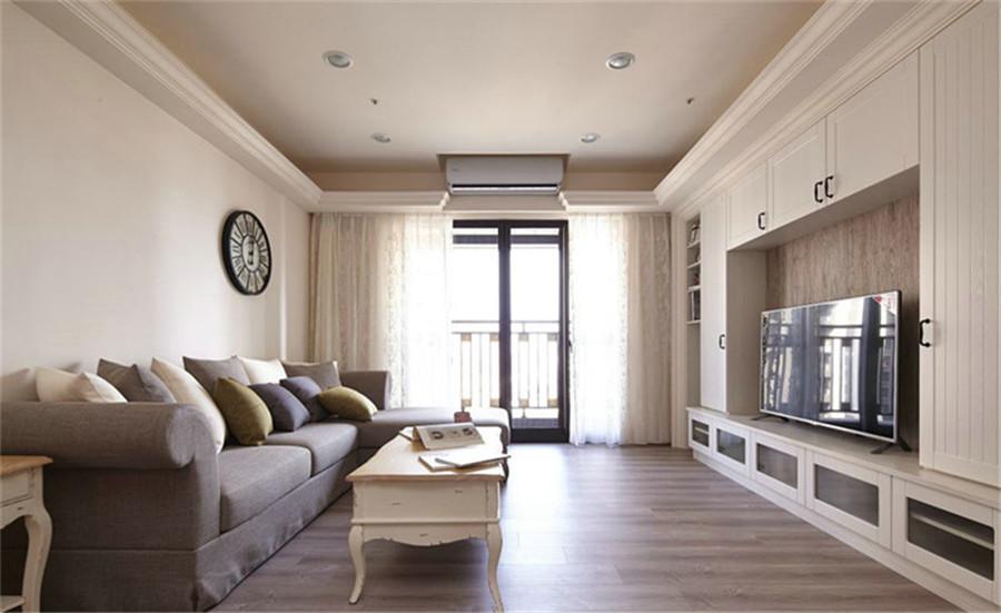 133.58平米三居室装修案例 全包18万!-盛世御珑湾装修