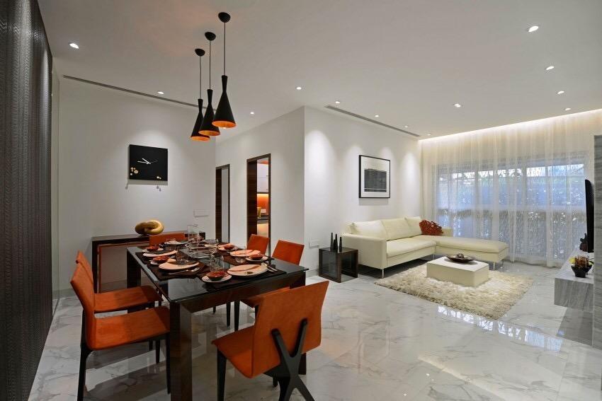 125平米三居室热门案例 现代简约全包14万!-保利时代装修