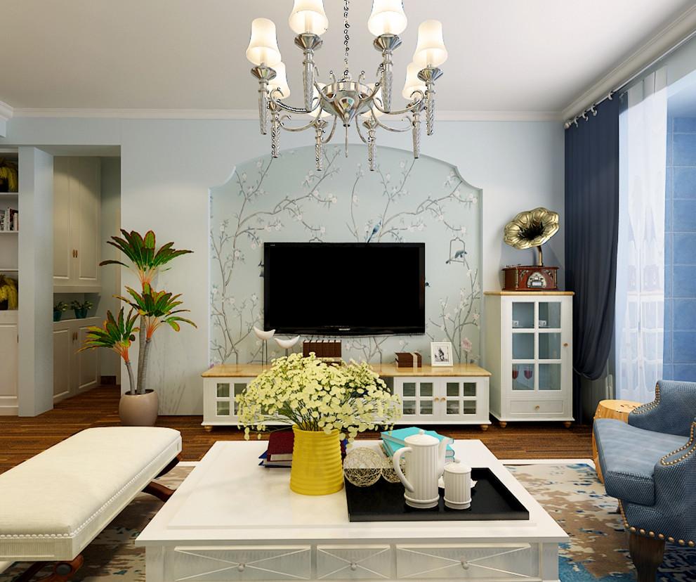 135.2平米三居室装修攻略 美式全包7万!-启锐园装修