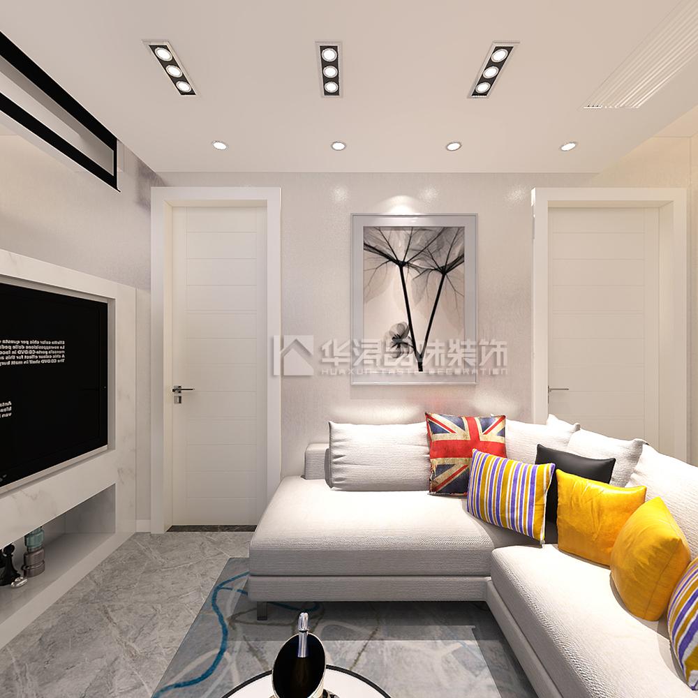 现代简约三居室装修效果图89平米14万现代简约三居室装修案例大全 南通装修设计 南通房天下家居装修网