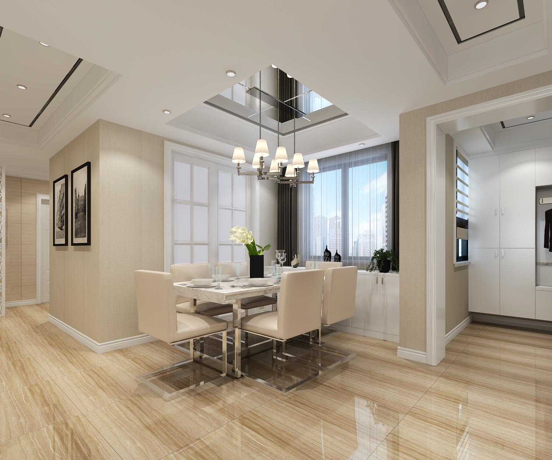 弘阳上院新房装修案例-97平现代简约风格