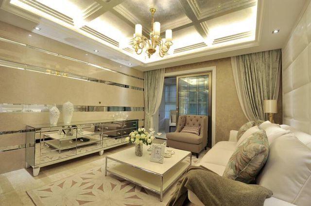 现代欧式三居室装修效果图95平米4万现代欧式三居室装修案例大全 南通装修设计 南通房天下家居装修网