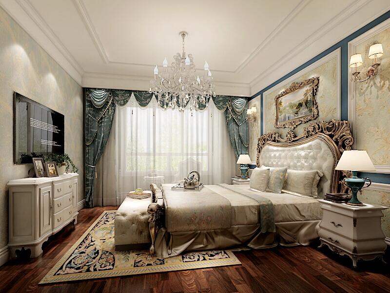 法式风格三居室的房子怎么装修好看?装修达人给你示范!-金科王府洋房装修