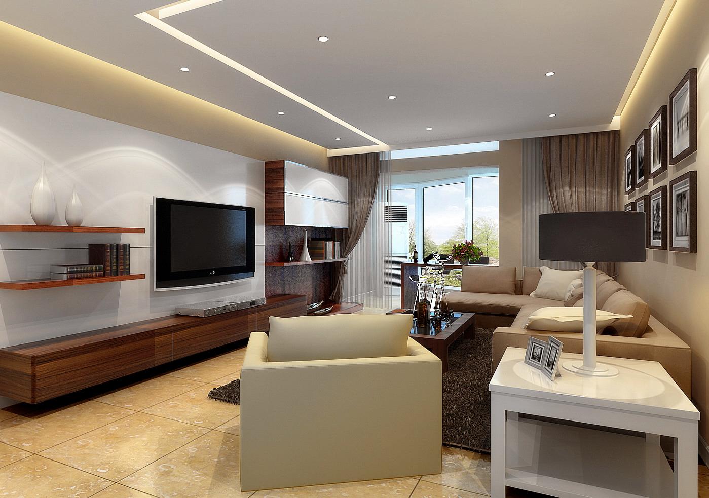 130平米北欧风格三居室,预算9万,点击看效果图!-金科王府洋房装修