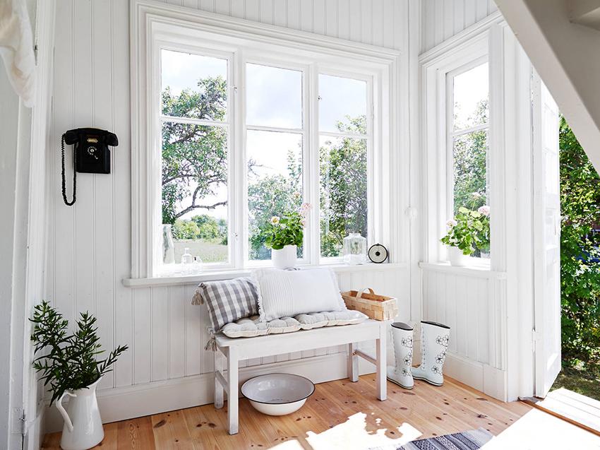 Веранда в скандинавском стиле | ИнноваСтрой