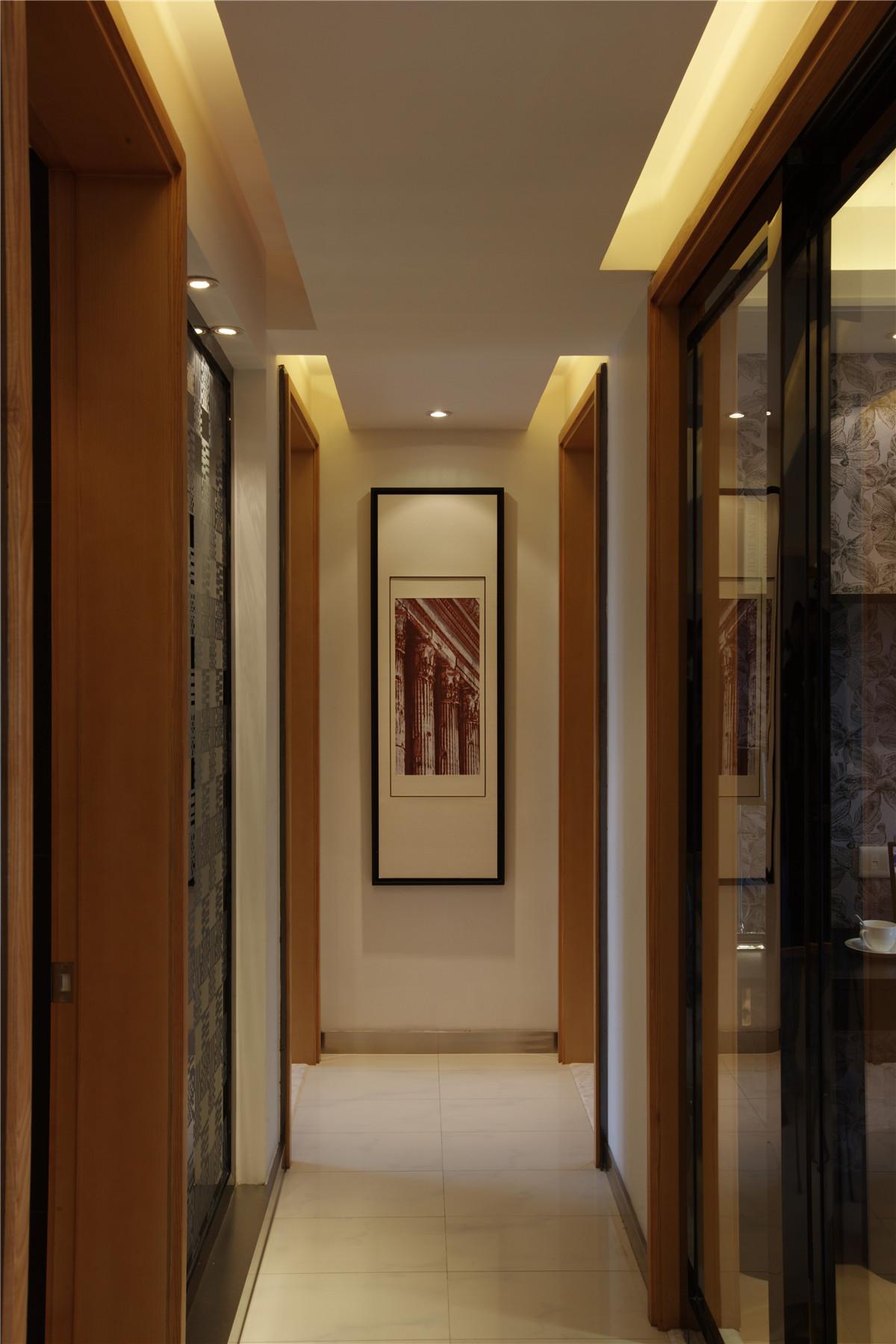 6 8万装修现代简约二居室 时尚潮流的黑白灰搭配