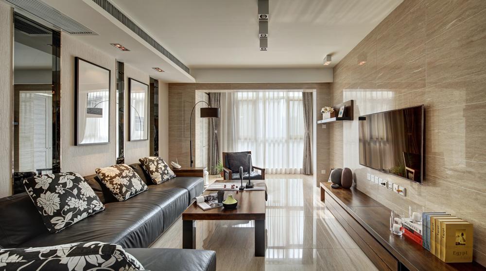 170平米四居室精美装修 现代简约半包7万!-星河国际装修