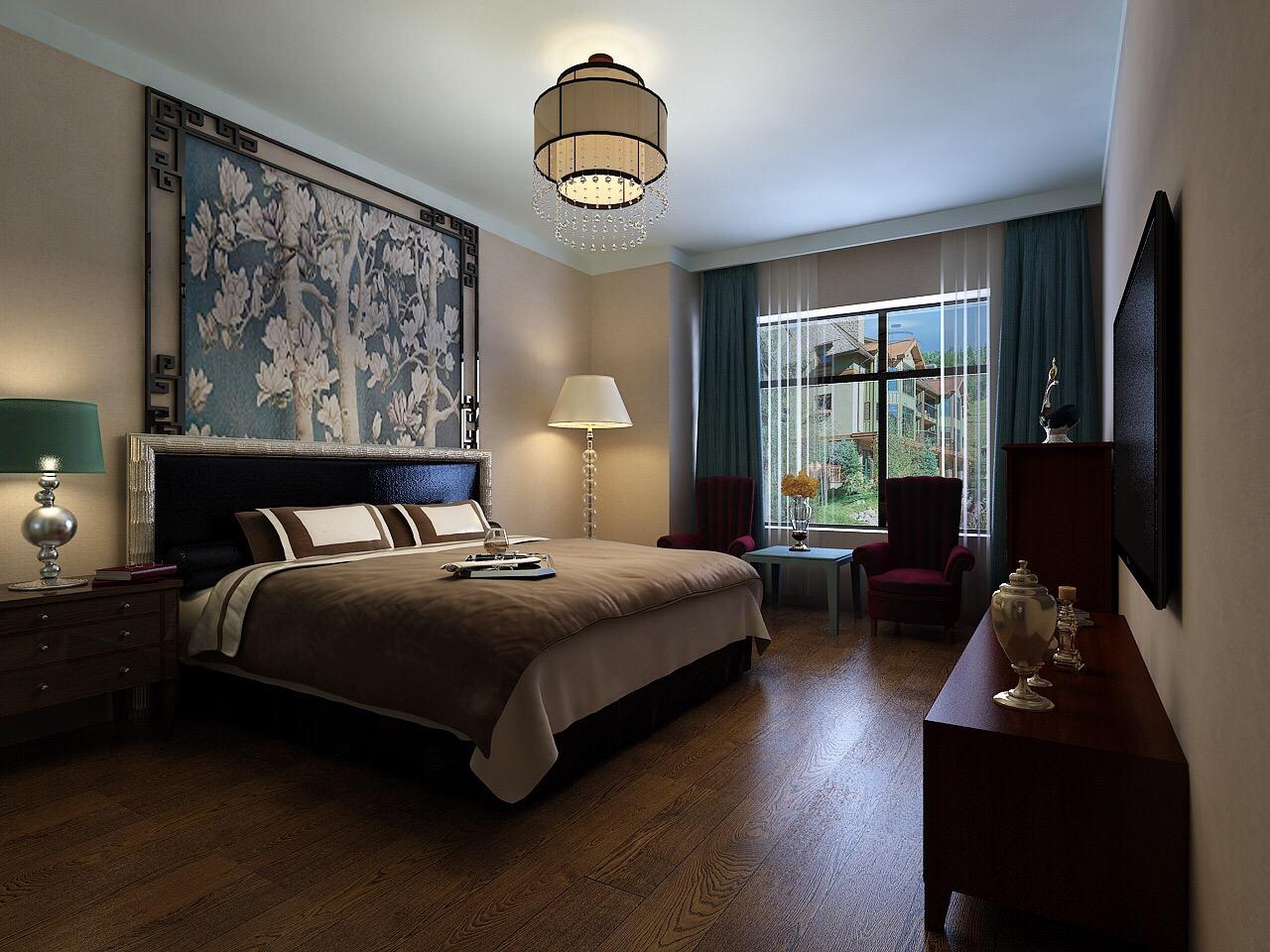 卧室有个大窗台,空间看着很大