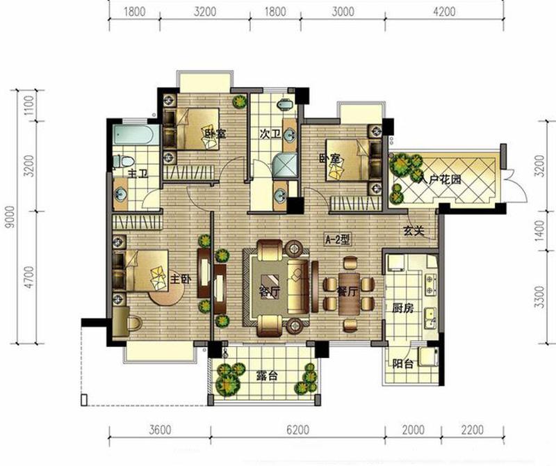 强调功能性设计,线条简约流畅,色彩对比强烈,这是现代风格家具的特点。大量使用钢化玻璃、不锈钢等新型材料为辅材,也是现代风格家具的常见装饰手法,能给人带来前卫的感觉。装修中极简便是让空间看上去非常简洁,大气。