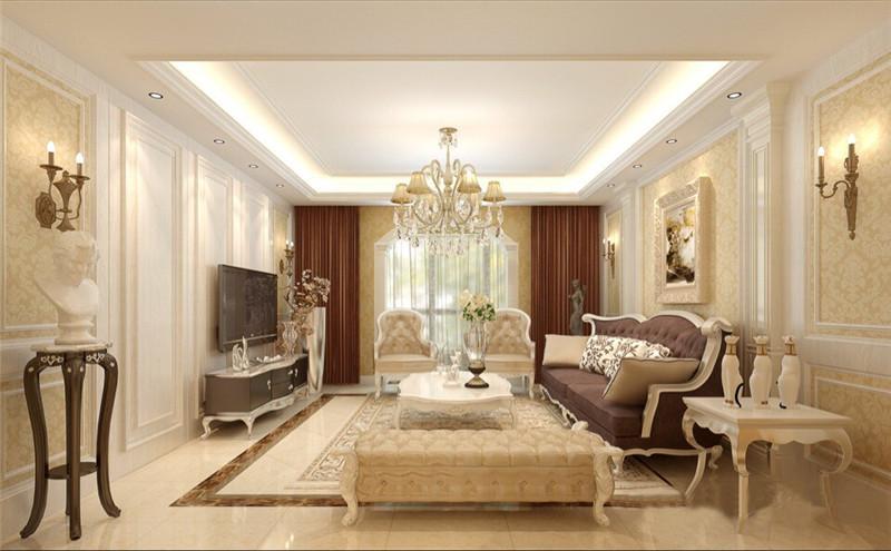 187平米的房子装修只花了8万,简欧风格让人眼前一亮!-万达国际装修