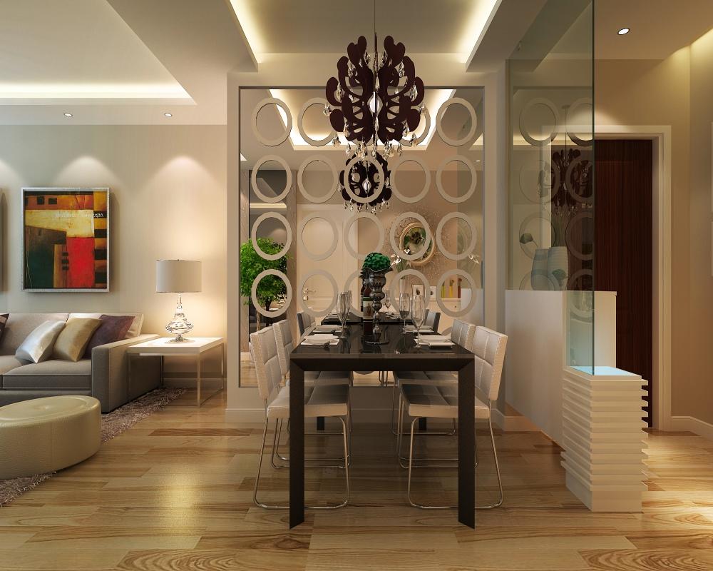 餐厅这边做简单处理,保证亮度以及整体的和谐统一