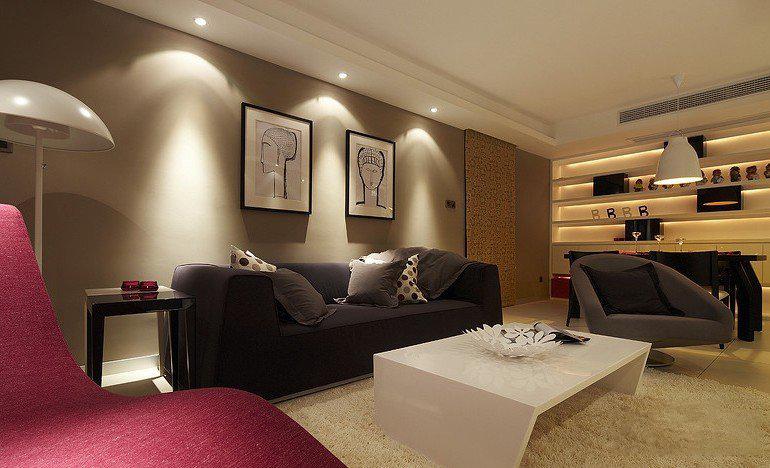 125平米三居室热门案例 欧美风情全包15万!-世界公元二期装修