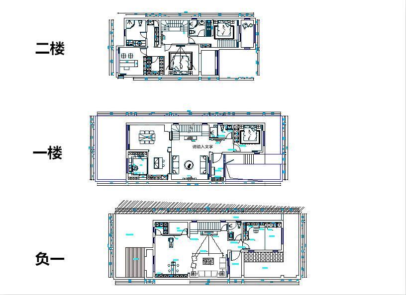 这是青特花溪地的户型图,整个户型图分为三个部分。